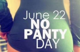 Hoy es el día mundial de las mujeres sin ropa interior
