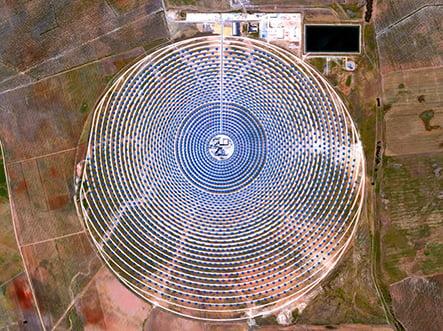 Gemasolar Solar Concentraor - Seville, Spain