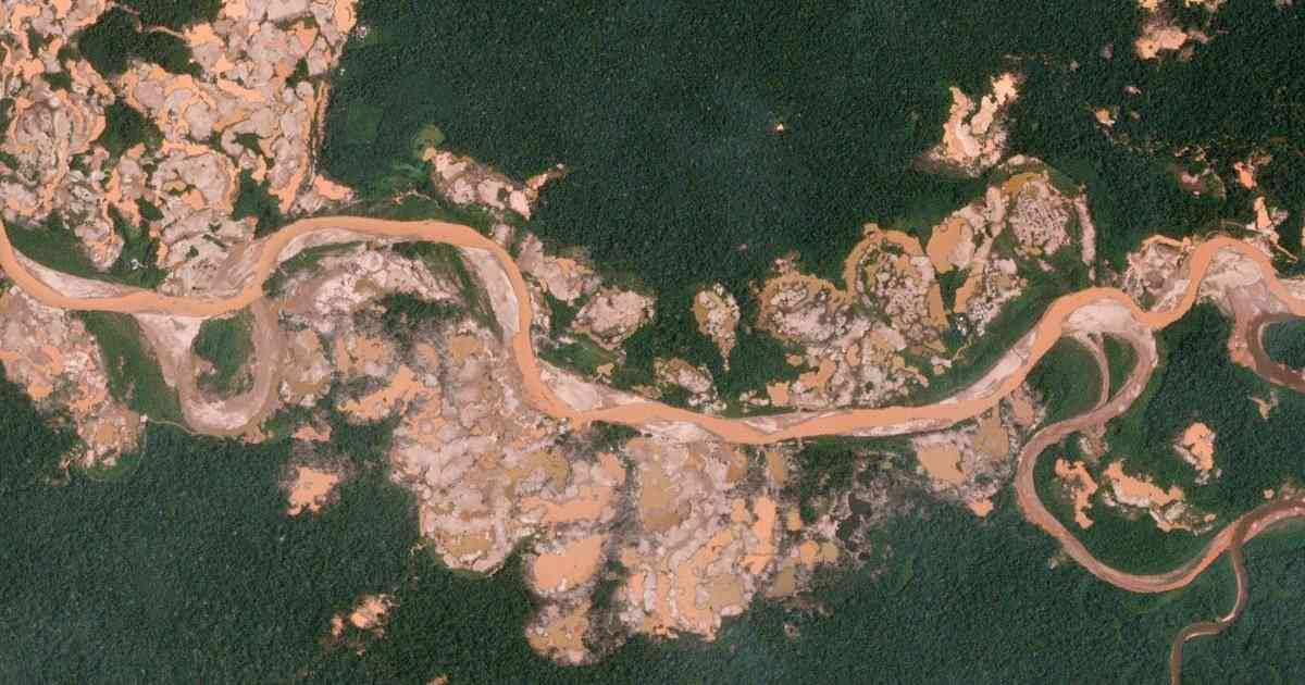 La deforestación en imágenes satelitales