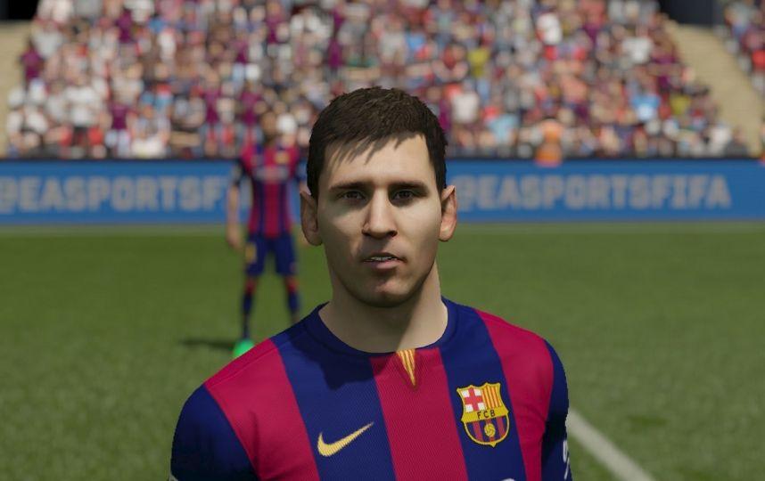 La evolución de FIFA el videogame en la Cara de MESSI