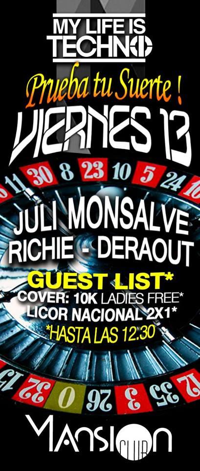 :: Sponsored :: Hoy viernes en Mansion Club @ My Life Is Techno