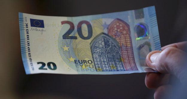 billete de 20 euros comienza a circular este miércoles en la zona del euro