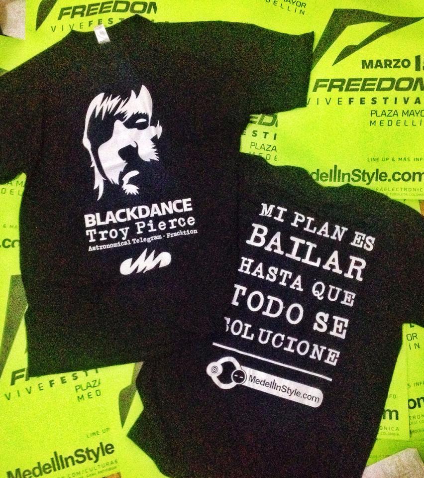 Quieres la camiseta oficial del BLΛCKDΛNCE GRATIS?