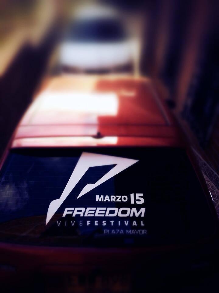 HOY!!! Reclama GRATIS camiseta #FREEDOM OFC y un murano de Tropical en la pegatina GMID, de 6 a 9pm