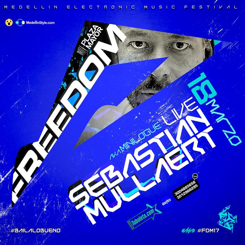 DON SEBASTIAN MULLAERT es la Cereza del Pastel FDM17 !!!! La otra de Mitad de MINILOGUE por FIN en LOCOMBIA