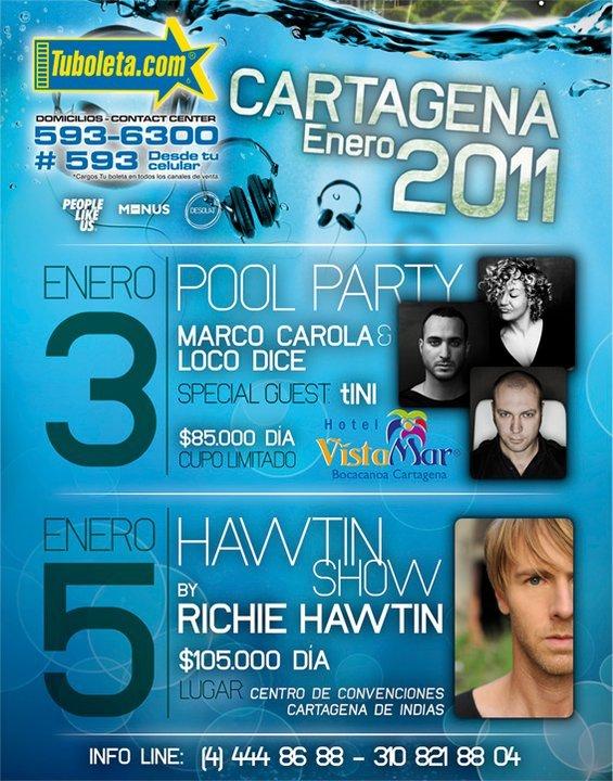 6 Dias para ver a Richie Hawtin por tercera vez en Cartagena