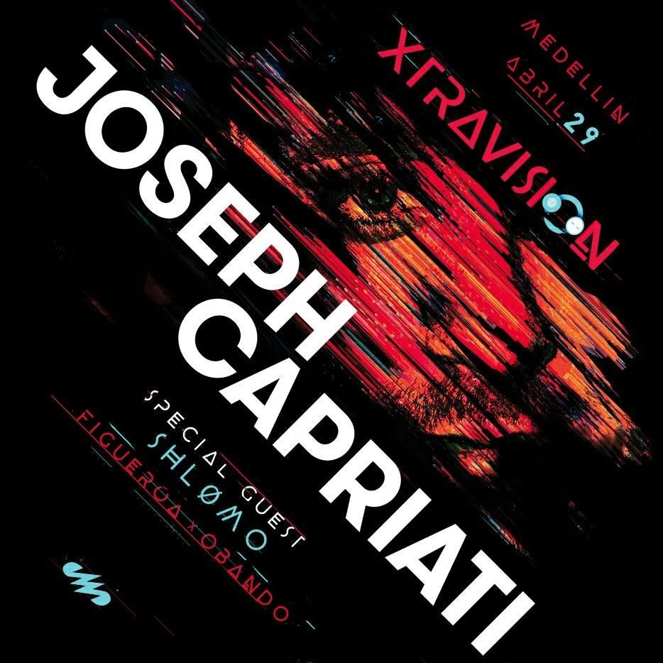 Compra XTRAVISION:JOSEPH CAPRIATI en MedellinStyle.com aquí ( Cualquier Banco, Efecty, Baloto, PSE 60000COP )
