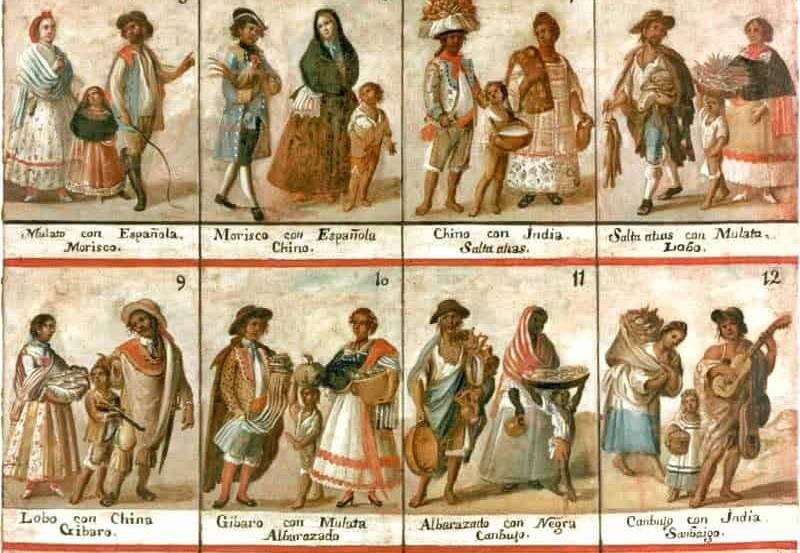 Criollos, mestizos, mulatos o saltapatrás: cómo surgió el gobierno racista en América
