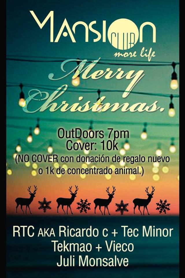 :: Sponsored :: Hoy Viernes Llego la Navidad en Mansion Club