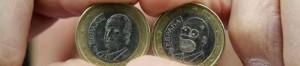 Cambian el rostro del Rey por el de Homero Simpson en una moneda de un euro