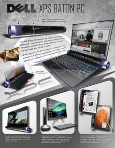 Dell XPS Baton, el portatil del futuro