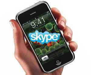 Los servicios de Skype llegan al iPhone