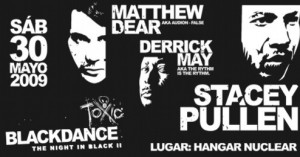 26blackdance 300x157 Matthew Dear como Audion Live @ Hecatomb Tour