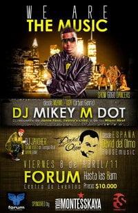 Sponsored: DJ Mikey M Dot (genero hiphop urbano) We Are The Music
