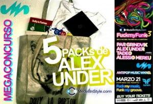 MEGACONCURSO: ALEX UNDER PROMO PACK !