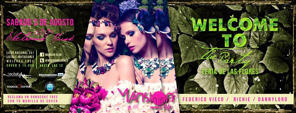 :: Sponsored :: Hoy en Mansion Club Welcome to party