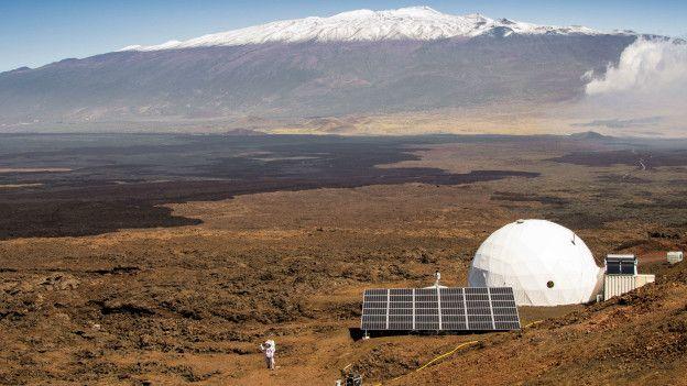 Marte Simulado: 6 personas desoladas en Hawaii