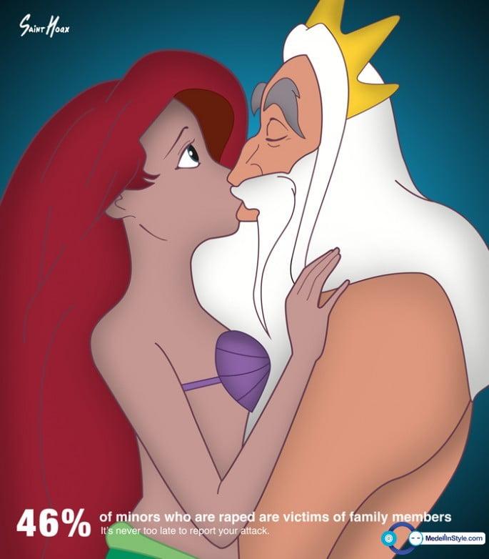 Que tiene que ver el Abuso Sexual y las Princesas de DISNEY ?
