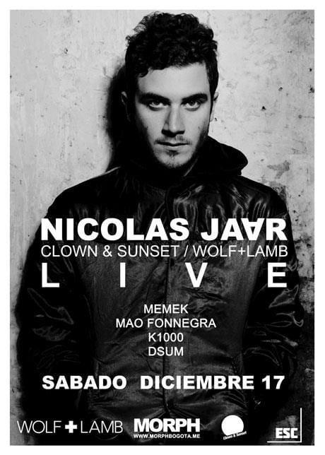 Sponsored: NICOLAS JAAR LIVE! Ultimas boletas a 50.000! Llama YA 4447179