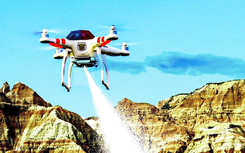 Drones Policía: Ahora vendrán armados con Tasers y Gases lacrimógenos
