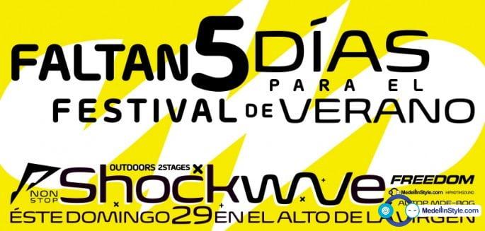 5 DÍAS para el SHOCKWAVE con PAR GRINDVIK, ANRILOV & BVOICE & PSYK !!! 18 hours non.stop