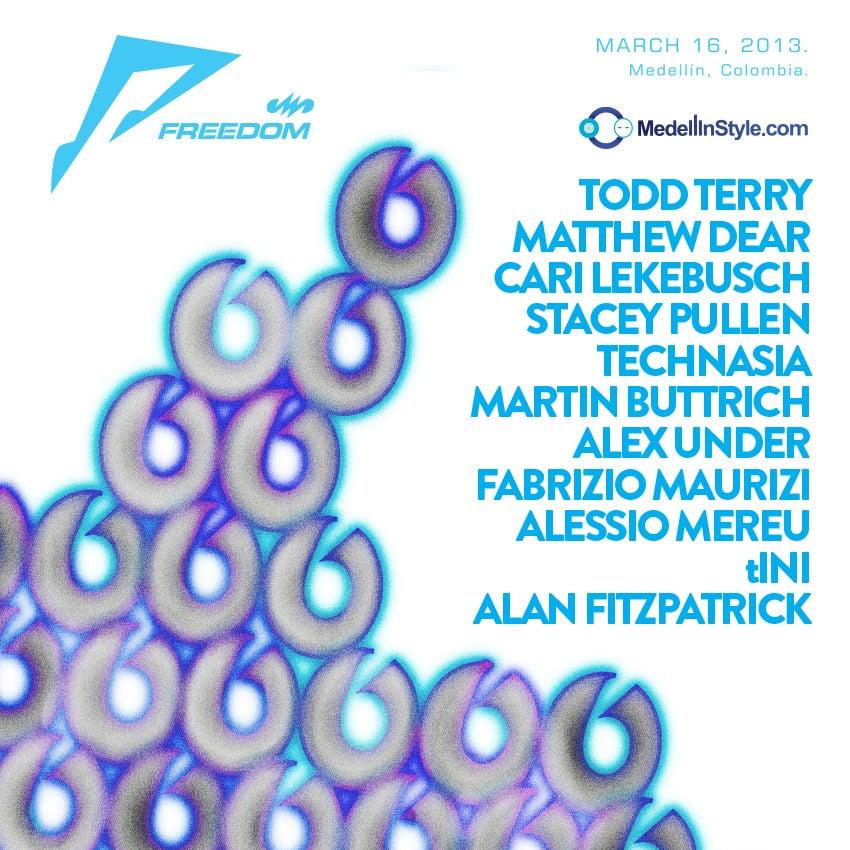 tINI + Cari Lekebusch + Alan Fitzpatrick se unen a la Familia FREEDOM2013