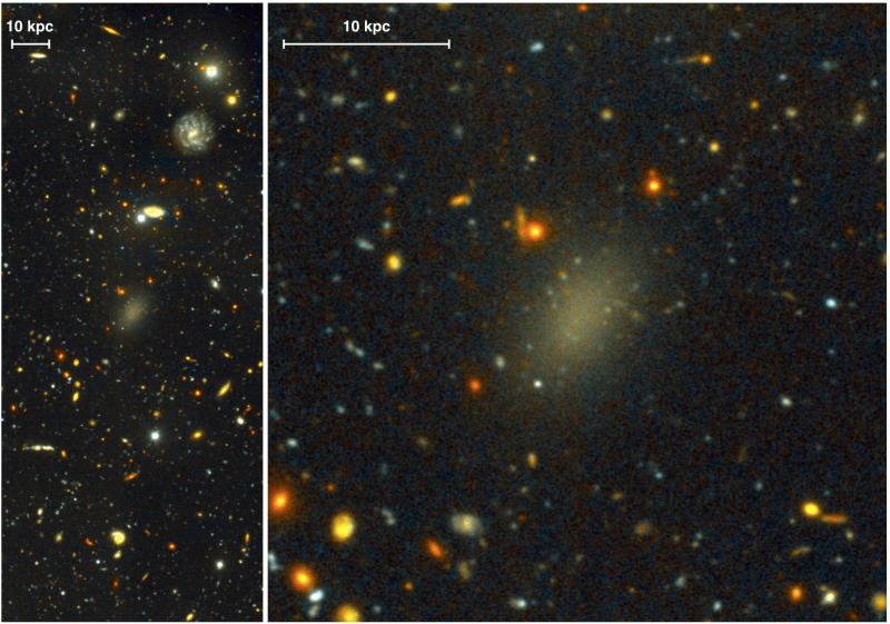 Encuentran Galaxia hecha de Materia Negra ?