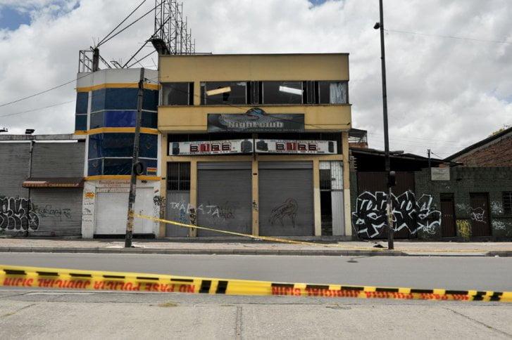 Tragedia en bar underground de Bogotá
