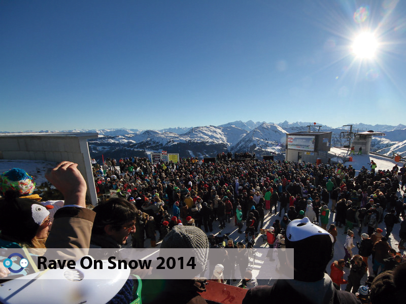 Alex Bau, Sascha Dive, Dorian Paic y más en Rave On Snow 2014