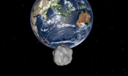 Asteroid 2012 DA14 Flight Path