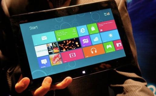 Asus y Acer presentaron sus tablet con Windows 8