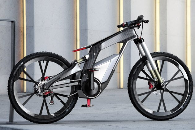 Audi presenta su espectacular prototipo de bicicleta