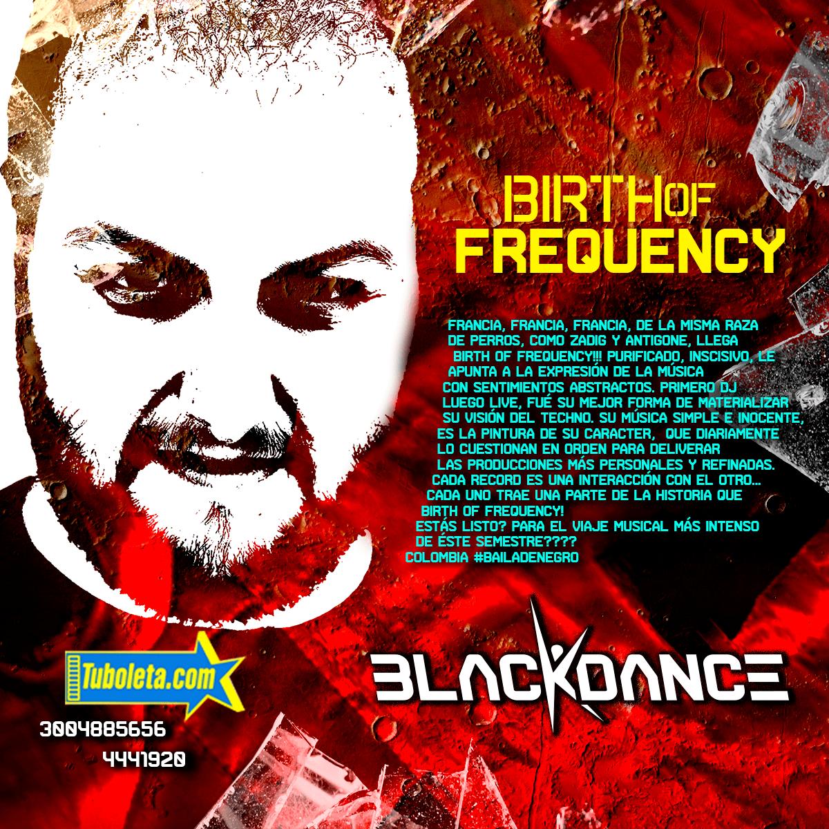 BIRTH OF FREQUENCY en el BLACKDANCE FESTIVAL