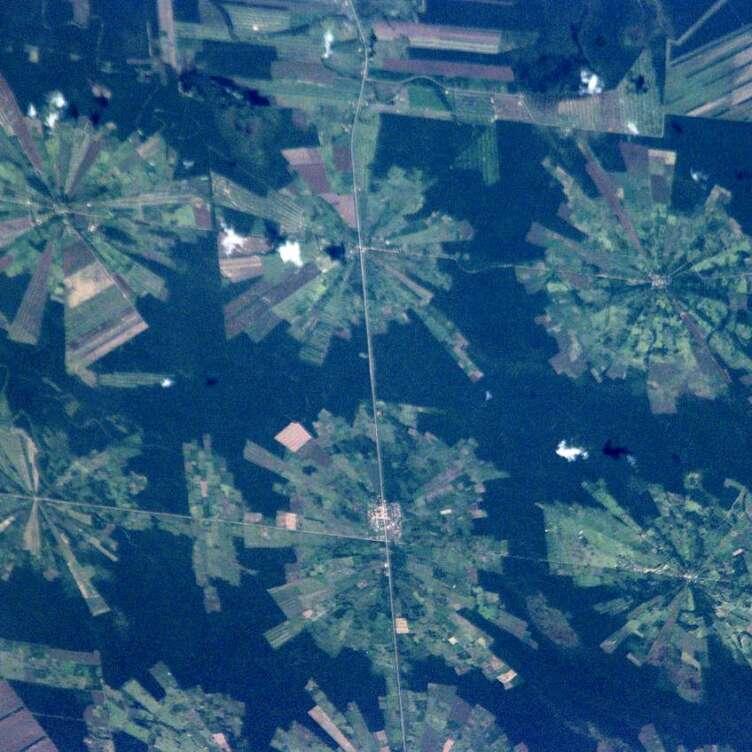 Bolivia Deforestation EO