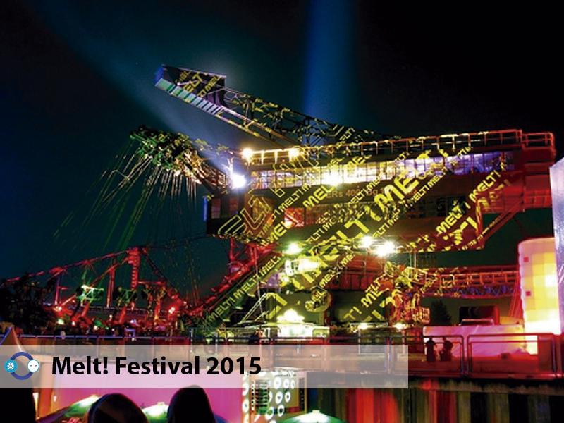 Bonobo Rødhåd Clark y más en Melt Festival 2015