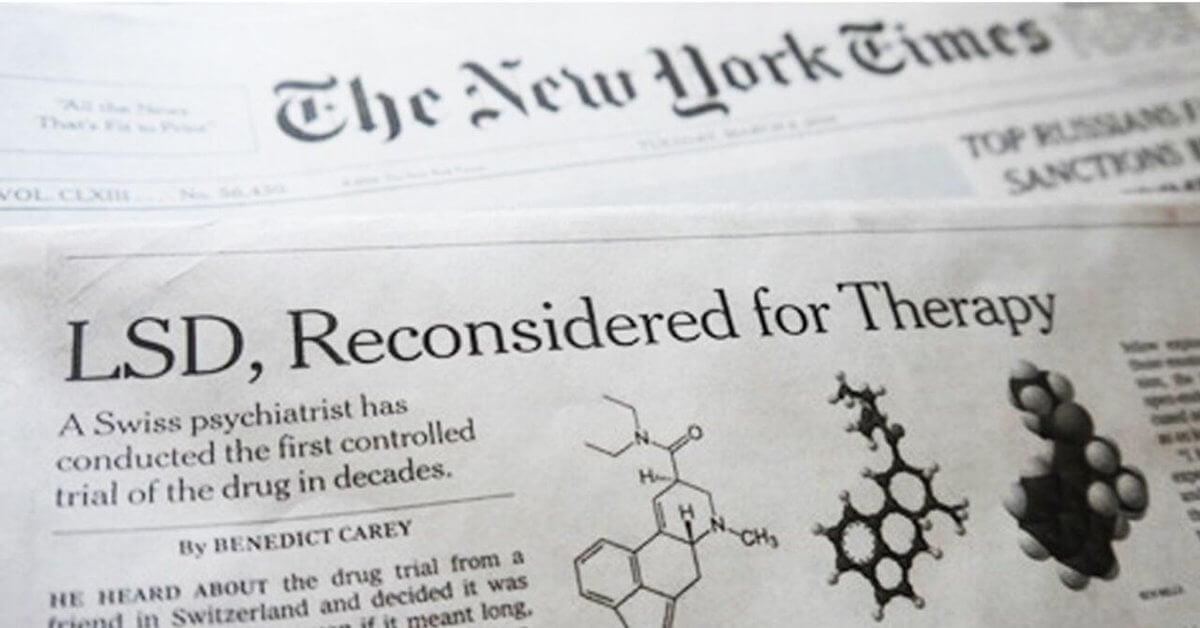 Las drogas psicodélicas podrían ayudar a tratar la epidemia de salud mental que enfrentaremos después del coronavirus