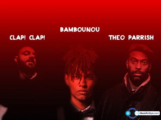 Clap! Clap!, Bambounou, Theo Parrish Live Band y más en el Dancity Festival 2014