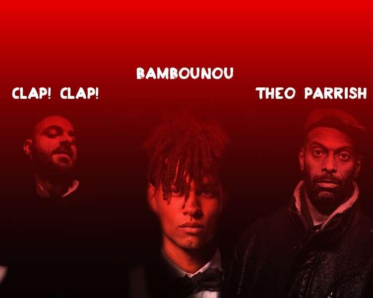 Clap Clap Bambounou Theo Parrish Live Band y más en el Dancity Festival 2014