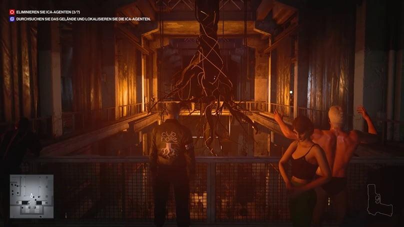 El videojuego Hitman3 te permite bailar en Club Hölle, un sitio inspirado en Berghain, Kraftwerk o Sisyphos