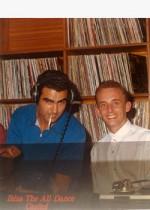 Con Joan Ribas en Pacha 1987