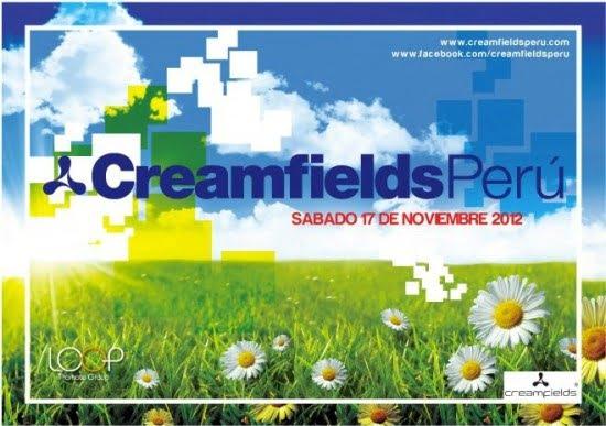 Creamfields Peru 2012