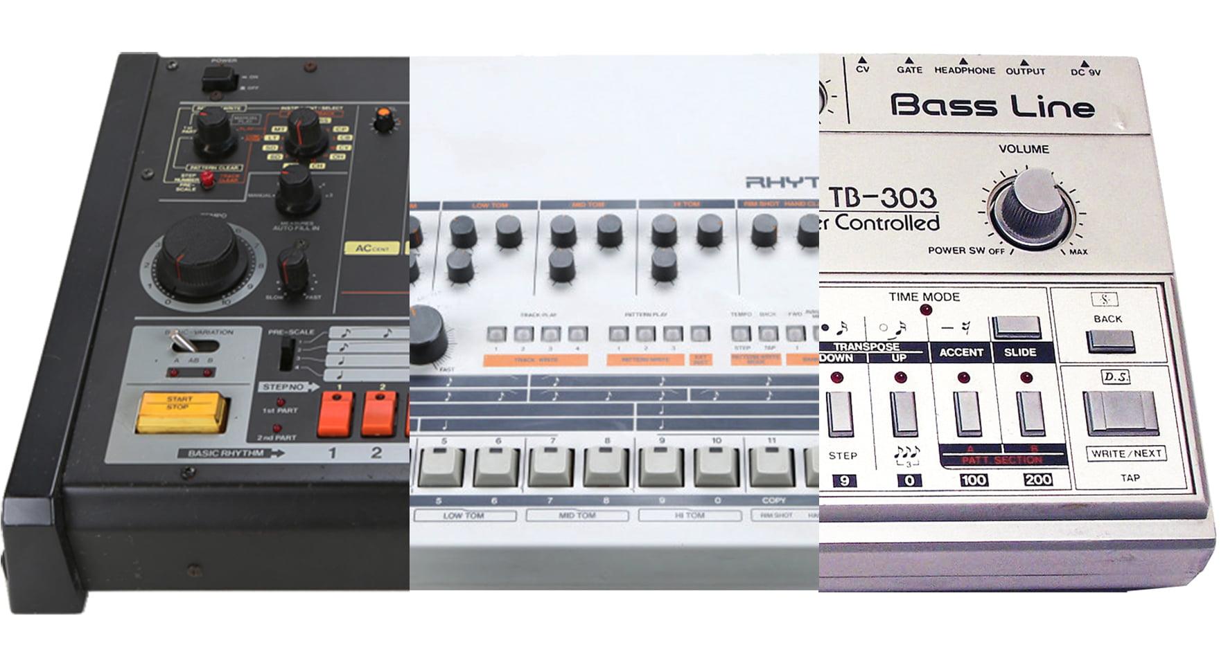 Divierte y aprende, 3 clásicos secuenciadores en tu navegador: Roland TR-808 / TR-909 / TB-303