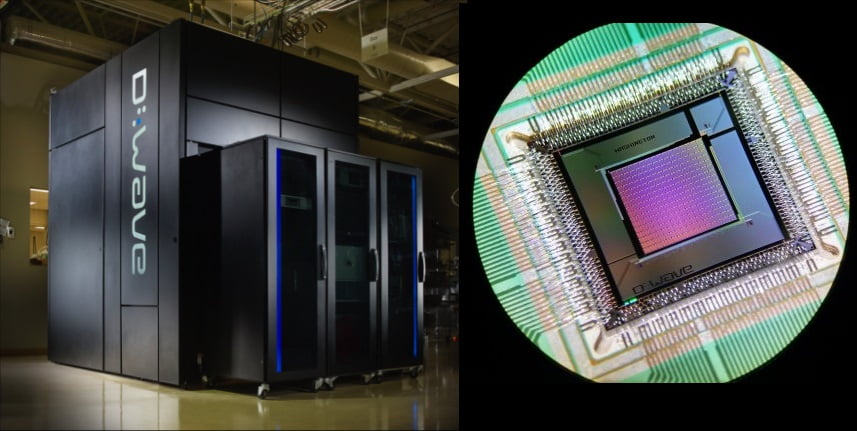 Google D Wave: 100.000.000 de veces más rápido que un PC Normal