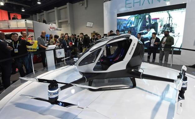 FUTUROS ARTIFICIALES: Chang 184 AVV , Drone de Tamaño para un Pasajero a 250.000 Dolares