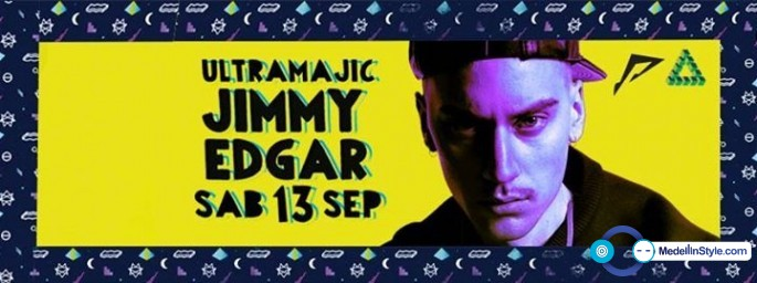 Mp3: Jimmy Edgar – The Warehouse Project – Septiembre 13