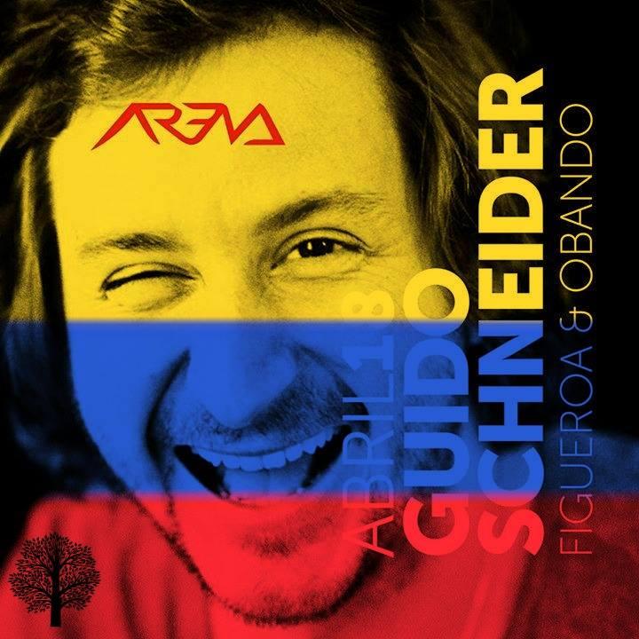 El rey del groove alemán, Guido Schneider, prefiere a Medellín que a Fabric o el DC10