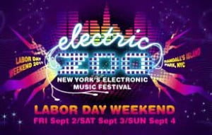 Electric Zoo Festival 2011 New York USA LiveSets Download and Tracklist 02 03 04 09 201133
