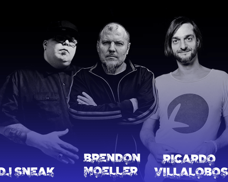 Escucha lo nuevo de Brendon Moeller Dj Sneak Ricardo Villalobos