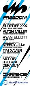 TIM XAVIER en el cierre del FREEDOM 2010 con SPEEDY J!!! Septiembre 11 @ Forum!!!