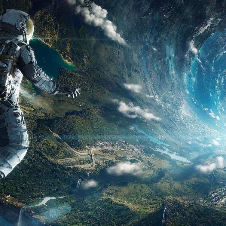 Fantasy Astronaut to black hole 100480